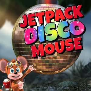 Jet Pack Disco Mouse